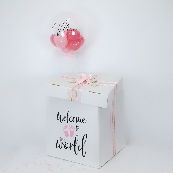Caja Bebé Welcome World Rosa